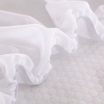 100% Cotton Jersey Customized Fitted Style Mattress Cover