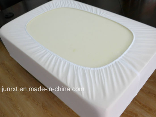 colorful Crib Size Bamboo Fiber Waterproof Mattress Protector for Baby