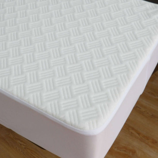 Hotel Fitted Mattress Cover/Quilted Mattress Protector Waterproof Antibacterial Tencel