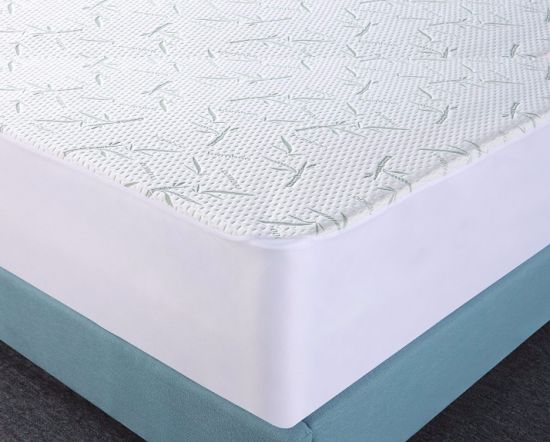 Deep Pocket Zippered Waterproof Bamboo Rayon Mattress Encasement