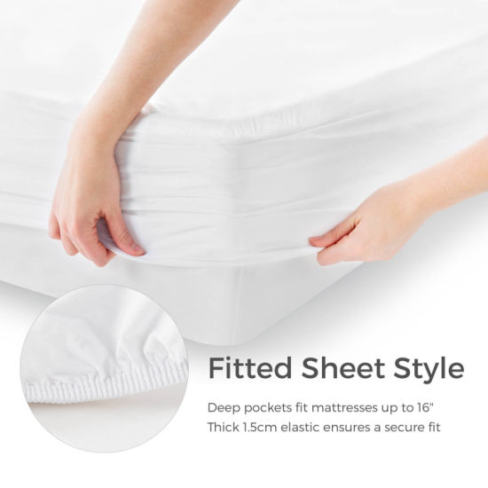 High Quality Soft Fluffy Waterproof Mattress Cover