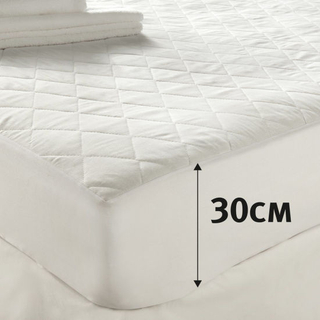Deep Skirt Quilt Waterproof Mattress Protector for Home
