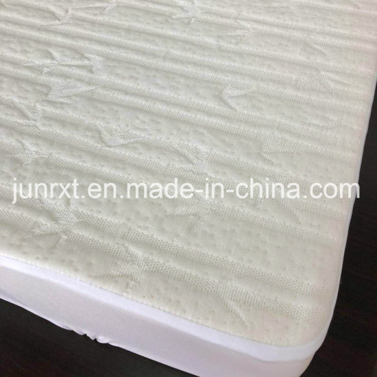 Bamboo Waterproof White Baby Cots Bed Baby Crib Fitted and Toddler Mattress Pad/ Cover/Protector