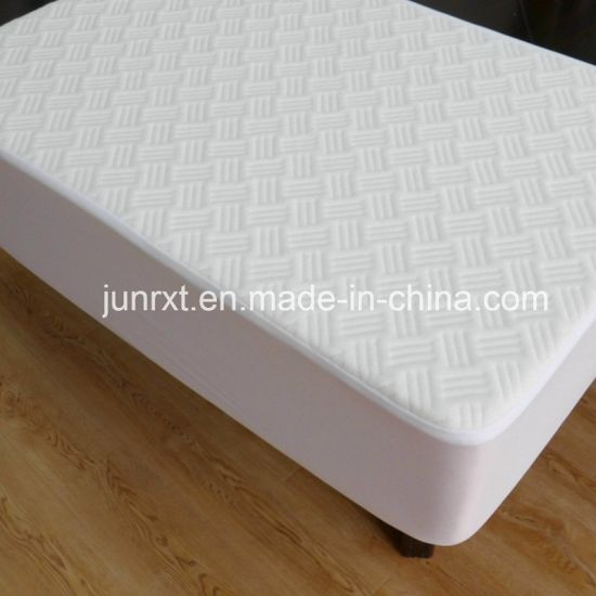 Washable Bed Bug Quilted Baby Waterproof Bamboo Crib Mattress Protector