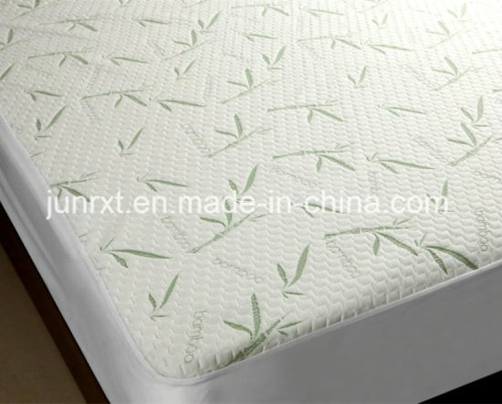 Manufacturers of Twin/Full/Queen/King Size Waterproof Air Layer 100% Bamboo Mattress Protector