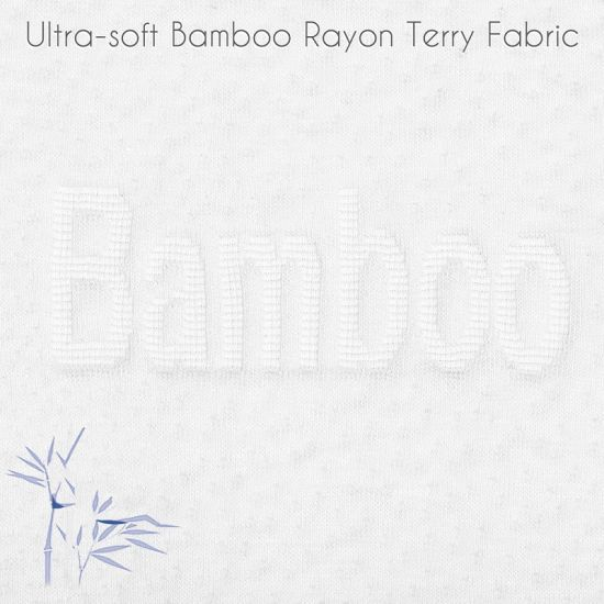 Luxurious Rayon From 100% Organic Bamboo Mattress Protector Pad