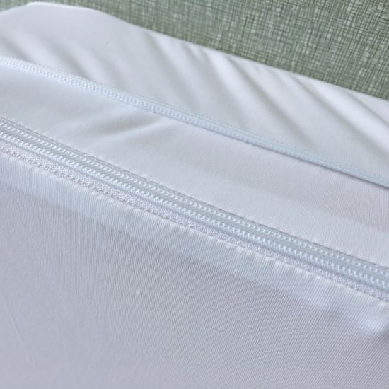 Knitted Fabric 100% Waterproof Mattress Cover for Hotel