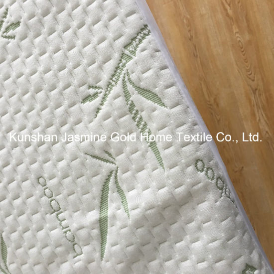 250GSM Jacquard Fabric 60% Bamboo 40% Polyester with TPU Waterproof Mattress Protector