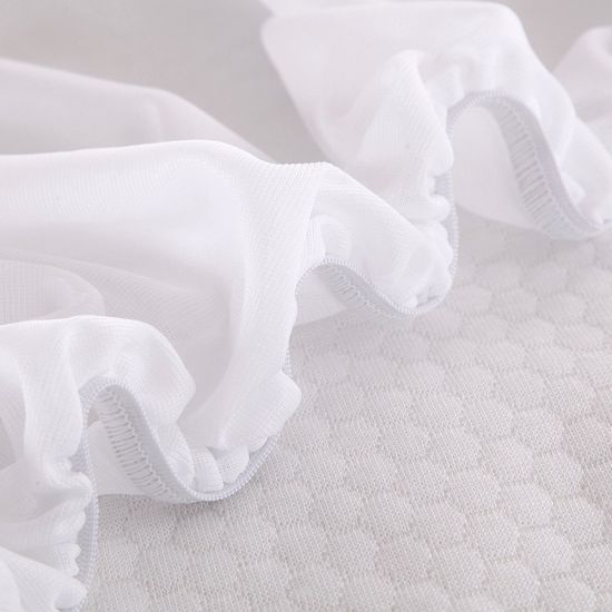 Quilt Polyester Jacquard Anti-Dust Mite Waterproof Zipper Mattress Cover