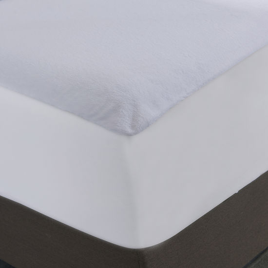 Amazon′s Hot Selling Coral Fleece Laminated with TPU Waterproof Mattress Cover