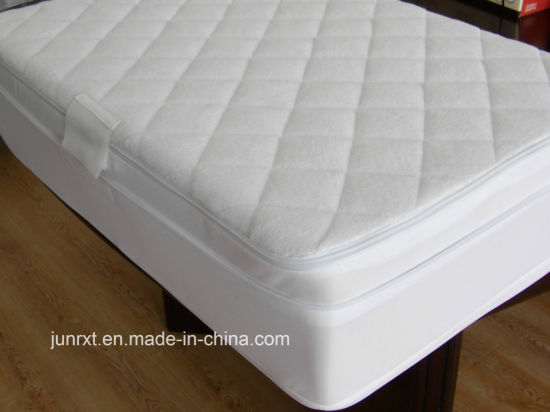 Terry Hypoallergenic Waterproof Mattress Protector Mattress Cover Bedding