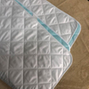 Microfiber Quilted Waterproof Mattress Pad / All Around with 4 Corner with Elastic Band