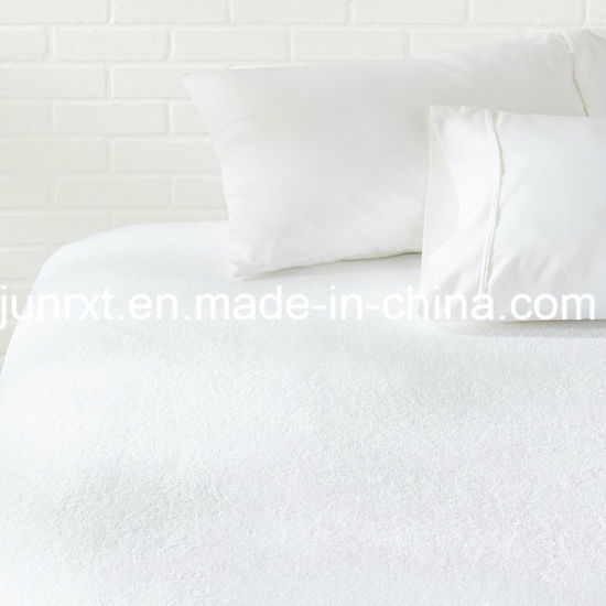 Queen Size Terry Fabric with TPU Waterproof Mattress Protector