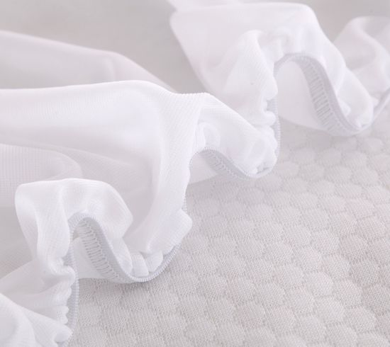 Pure Cotton Jersey Customized Fitted Style Mattress Cover