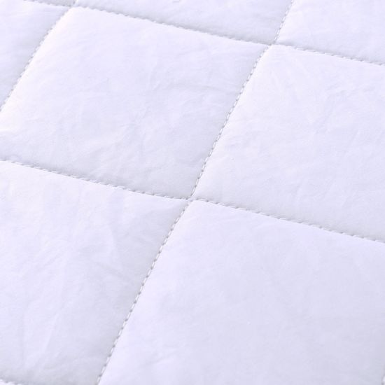 100% Cotton Cover Fitted Quilted Mattress Protector