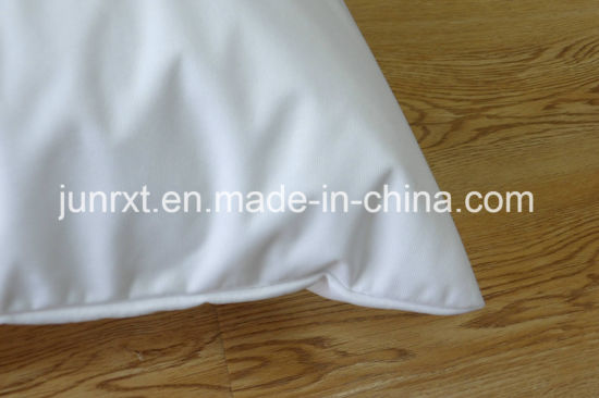 Wholesale 2017 Popular White Soft Terry Cloth TPU Waterproof Pillow Cases