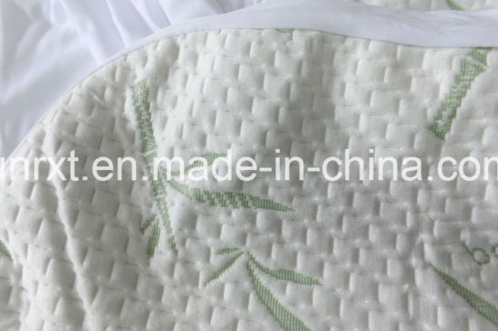 Extra Plush Bamboo Fitted Mattress Topper /Cover - Made in China - Queen