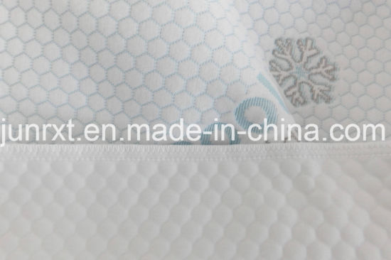 China Supplier High Quality Waterproof Mattress Cover with Air Layer Fabric for Adult Bed Crib Pad Protector