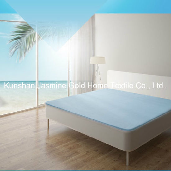 120GSM Cool to The Touch Cooling Fabric with TPU Waterproof Mattress Protector