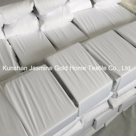 95GSM 100% Polyester knitted Fabric Waterproof Mattress Protector