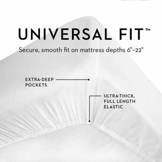 100% Cotton Top Layer Quilted Waterproof Mattress Pad