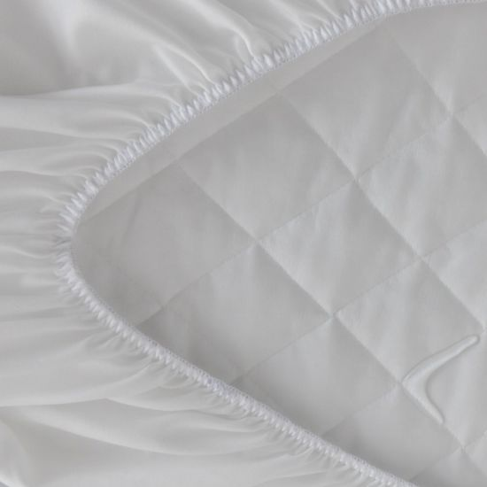 Microfiber Quilted Mattress Protector/Classic Style