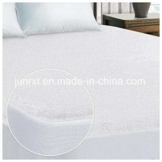 Terry Cloth Material Waterproof Premium Mattress Protector Mattress Cover