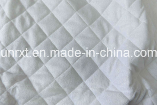 Bamboo Fiber Jacquard Knitting Fabric Mattress Protector Cover Home Textile