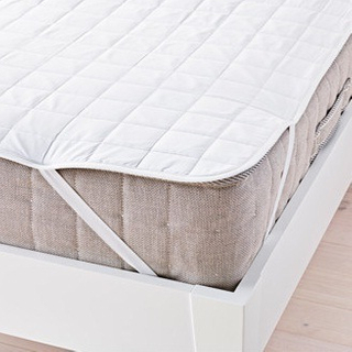 400-Thread-Count Mattress Pad in White