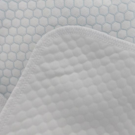 Waterproof Mattress Protector with Quilted Air Layer Jacquard Home Textile